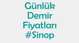 Sinop inşaat demiri fiyatları